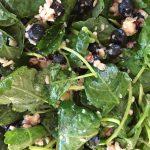 Kale & Blueberries